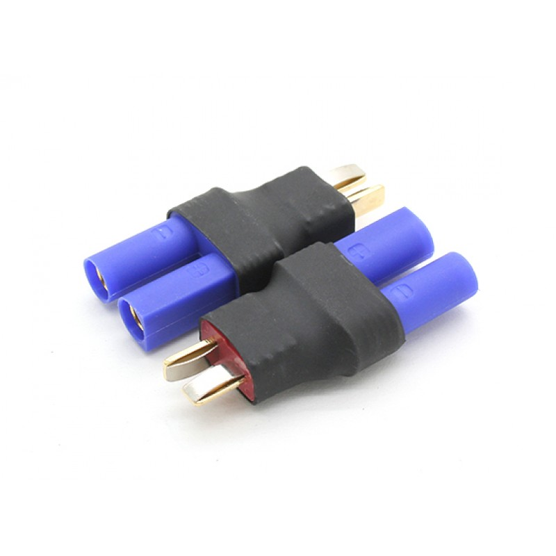Connector to ec5 battery adapter 1pc deans ec5femaleadp