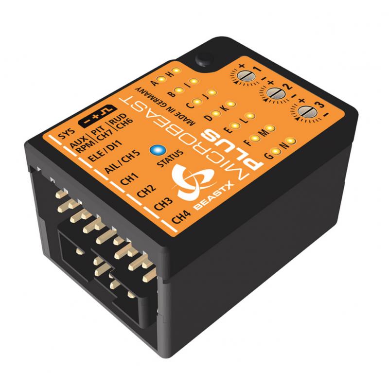 Beastx microbeast plus hd flybarless controller bxm76500