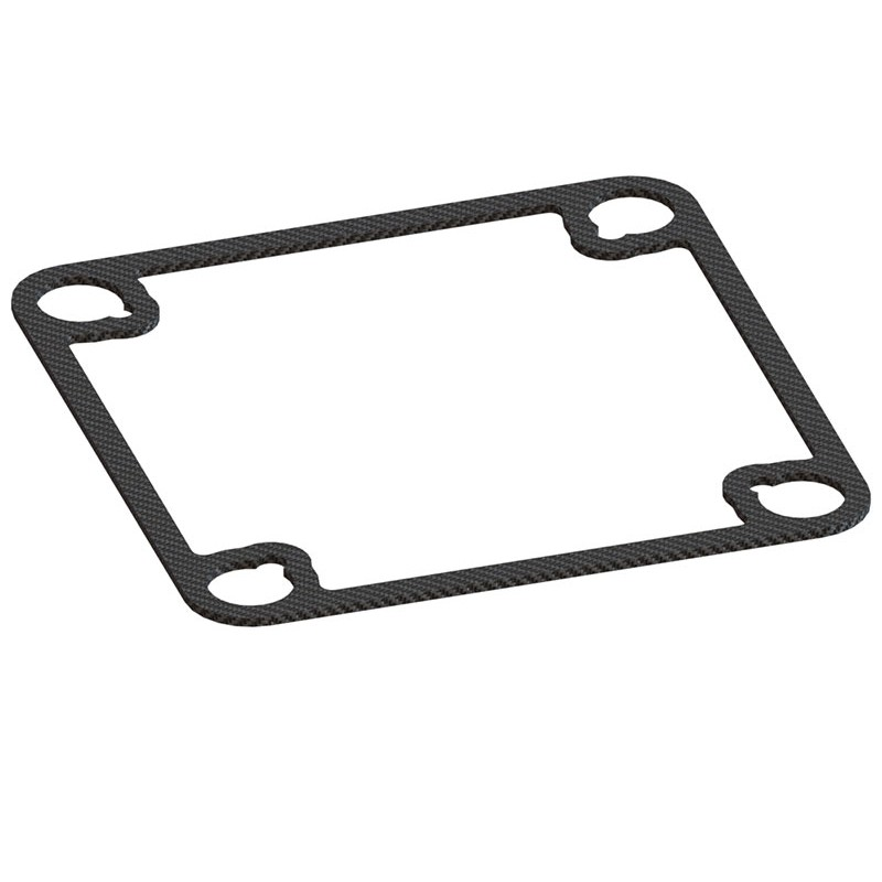 Inductrix Square Shape Carbon Frame Stiffener Lx1965