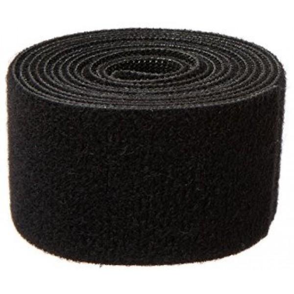 Quantum Velcro 2inch/50.8mm Wide Black Strap 1 Meter Long Q-VEL-0007 [Q-VEL-0007]